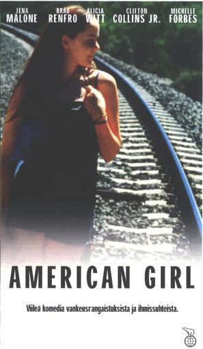 American Girl - Finnish VHS movie cover (thumbnail)