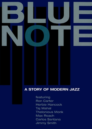 Blue Note - A Story of Modern Jazz - German Movie Cover (thumbnail)
