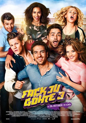 Fack ju Göhte 3 - German Movie Poster (thumbnail)