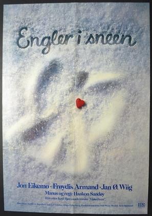 Engler i sneen - Norwegian Movie Poster (thumbnail)