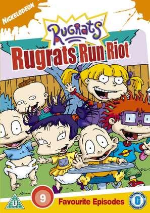 """Rugrats"" - British DVD movie cover (thumbnail)"
