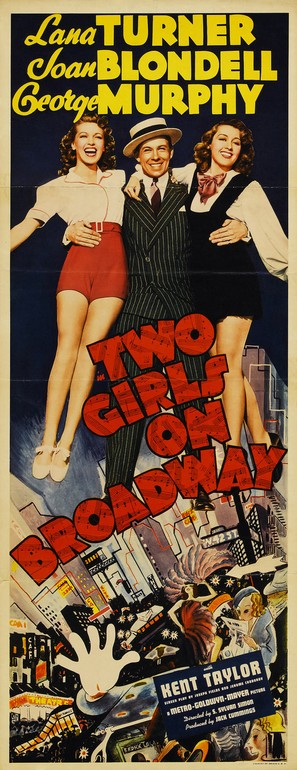 Two Girls on Broadway - Movie Poster (thumbnail)