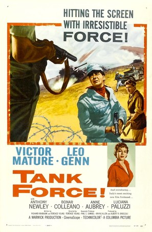 Tank Force! - Movie Poster (thumbnail)
