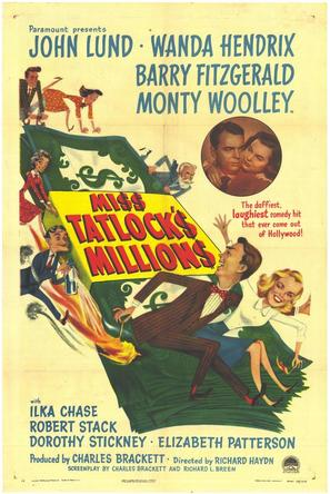 Miss Tatlock's Millions - Movie Poster (thumbnail)