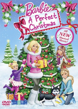 Barbie: A Perfect Christmas - DVD cover (thumbnail)