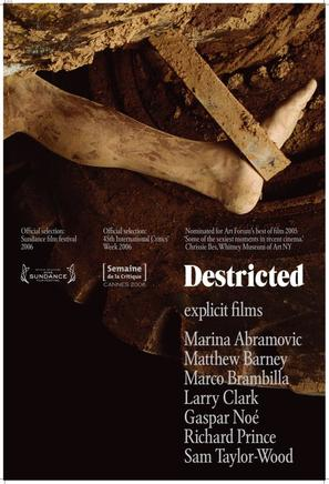 Destricted - Movie Poster (thumbnail)