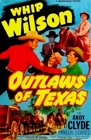 Outlaws of Texas - Movie Poster (thumbnail)