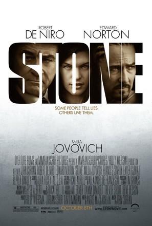 Stone - Movie Poster (thumbnail)