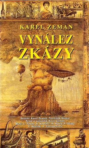 Vynález zkázy - Czech VHS cover (thumbnail)