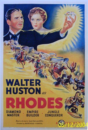 Rhodes of Africa - Movie Poster (thumbnail)