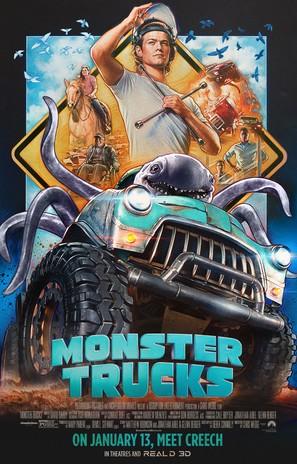 Monster Trucks - Movie Poster (thumbnail)