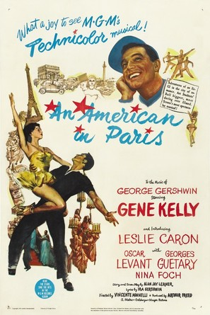 An American in Paris - Movie Poster (thumbnail)