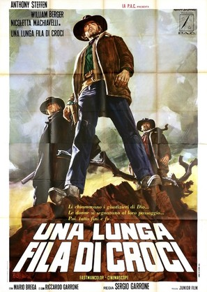 Una lunga fila di croci - Italian Movie Poster (thumbnail)
