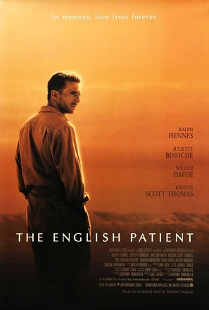 The English Patient - Movie Poster (thumbnail)