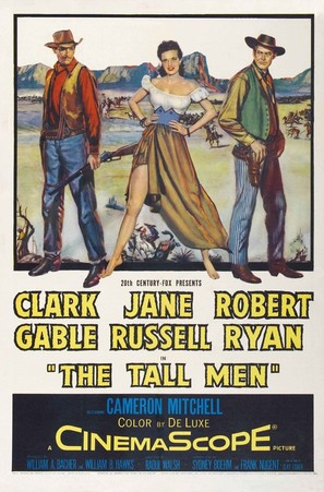 The Tall Men - Movie Poster (thumbnail)
