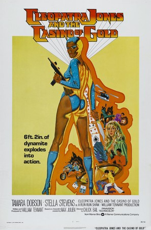 Cleopatra Jones and the Casino of Gold - Movie Poster (thumbnail)