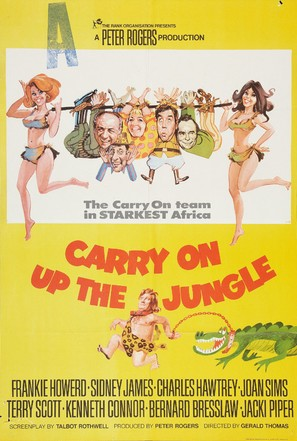 Carry on Up the Jungle - British Movie Poster (thumbnail)