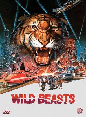 Wild beasts - Belve feroci - German DVD movie cover (thumbnail)