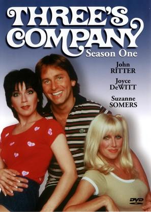 """""""Three's Company"""" - DVD movie cover (thumbnail)"""