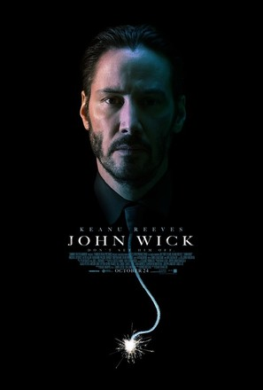 John Wick - Theatrical movie poster (thumbnail)