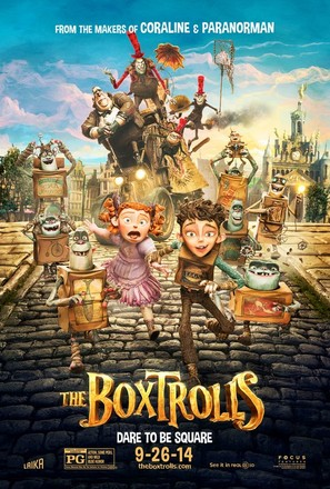 The Boxtrolls - Movie Poster (thumbnail)