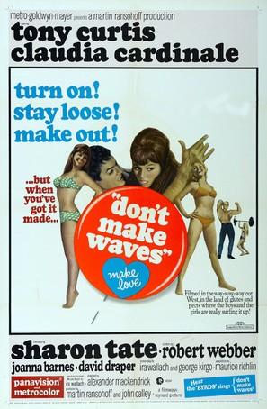 Don't Make Waves - Movie Poster (thumbnail)