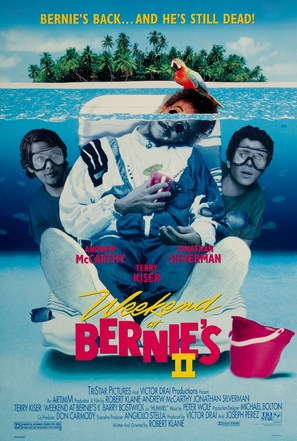 Weekend at Bernie's II - Movie Poster (thumbnail)