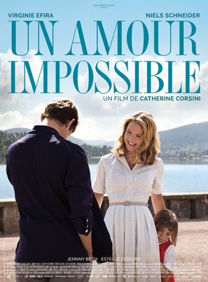 Un amour impossible - French Movie Poster (thumbnail)