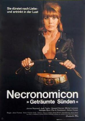 Necronomicon - Geträumte Sünden - German Movie Poster (thumbnail)