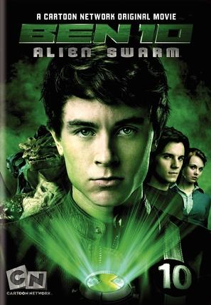 Ben 10: Alien Swarm - DVD cover (thumbnail)