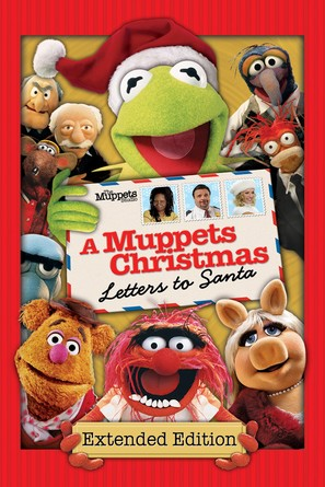 A Muppets Christmas: Letters to Santa - DVD cover (thumbnail)