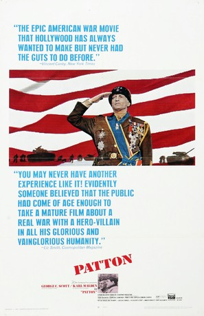 Patton - Movie Poster (thumbnail)