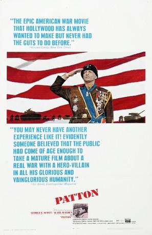 Patton - Movie Poster (thumbnail)