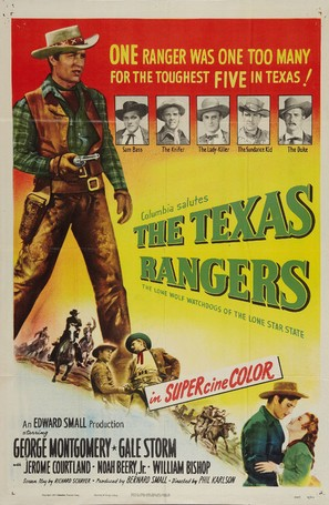 The Texas Rangers - Movie Poster (thumbnail)