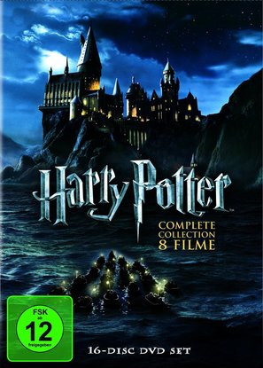 Harry Potter and the Chamber of Secrets - German DVD movie cover (thumbnail)