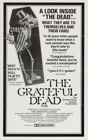 The Grateful Dead - Theatrical poster (thumbnail)