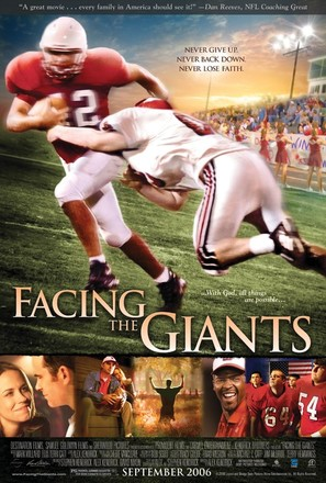 Facing the Giants - Movie Poster (thumbnail)