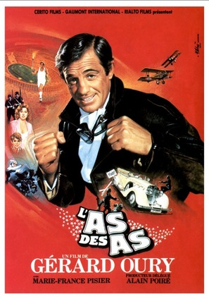 L'as des as - French Movie Poster (thumbnail)