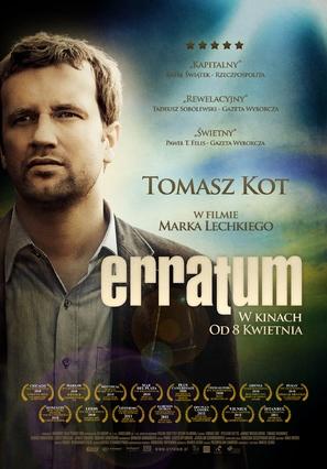 Erratum - Polish Movie Poster (thumbnail)
