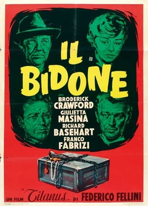 Il bidone - Italian Movie Poster (thumbnail)