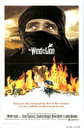The Wind and the Lion - Movie Poster (thumbnail)