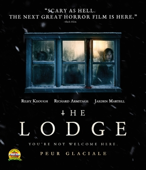 The Lodge - Canadian Blu-Ray movie cover (thumbnail)