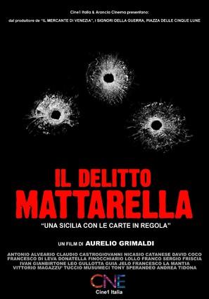 Il delitto Mattarella - Italian Movie Poster (thumbnail)