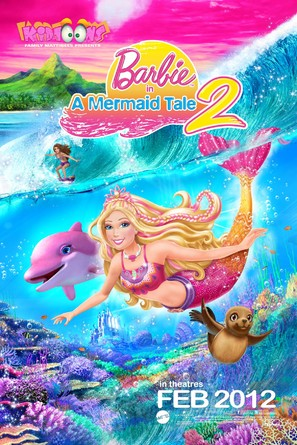 Barbie in a Mermaid Tale 2 - Movie Poster (thumbnail)