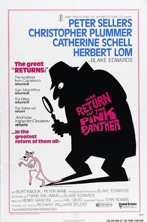 The Return of the Pink Panther - Movie Poster (thumbnail)