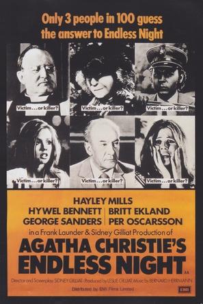 Endless Night - British Movie Poster (thumbnail)