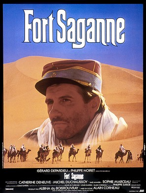 Fort Saganne - French Movie Poster (thumbnail)