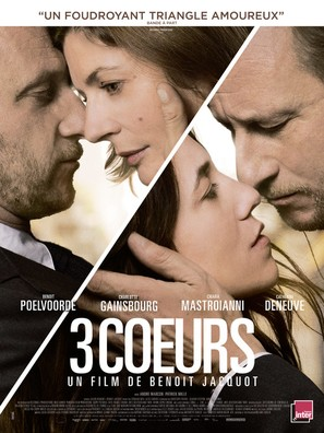 3 coeurs - French Movie Poster (thumbnail)