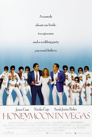 Honeymoon In Vegas - Movie Poster (thumbnail)