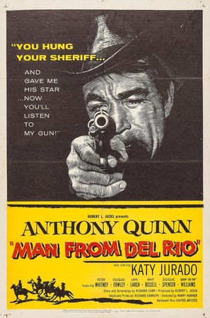 Man from Del Rio - Movie Poster (thumbnail)